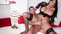 TRANS BELLA - #Marcella Italy - Big Booty Tranny Hardcore Anal Drilled By Daddy