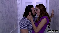 Pretty tight tranny Savannah Thorne gets her ass screwed