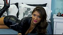 Hot Webcam Milf In Leather Outfit - More At ShowCamZ.com