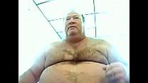 Gordito panzon  enseña su verga gruesa chubby 10