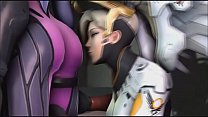 Porn Compilation Overwatch Lesbians