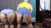16740 BBW Big Booty White Girls Lexxxi Lockhart Georgia Peach Jean Booty Tease preview