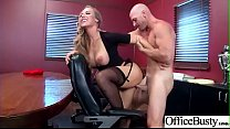 (Nicole Aniston) Busty Office Slut Girl In Hardcore Sex Scene clip-21