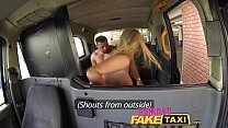 Female Fake Taxi Welsh lad gets a sweet surprise صورة