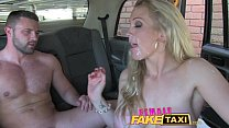 Female Fake Taxi Welsh lad gets a sweet surprise