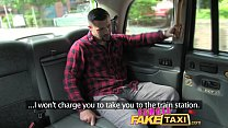 Female Fake Taxi Welsh lad gets a sweet surprise Preview