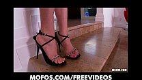 Perky Latina beauty strips and masturbates to orgasm on cam