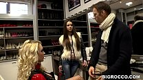 Teen vs Milf vs Rocco - Victoria Summers, Baby Jewel, Rocco Siffredi صورة