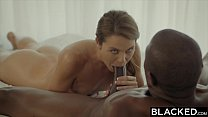 BLACKED First Interracial For Naughty Sister Ally Tate thumbnail
