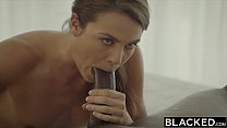 BLACKED First Interracial For Naughty Sister Ally Tate صورة
