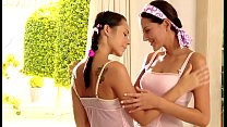 Relax with three nasty lesbian hotties spending time jointly