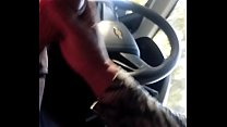 Quickie in the car