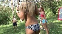 13162 Dirty-minded babes enjoy champagne and college DP scene 2 preview
