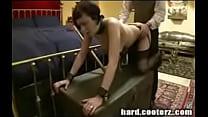 BDSM Master teaches his new puppy