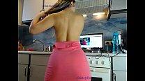 sexydea flashing ass on live webcam thumbnail