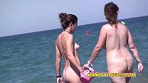 Young Nudist Cute Teen Beach Voyeur  Video