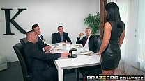 Image: Brazzers - Real Wife Stories -  The Dinner Party scene starring Adriana Chechik, Keiran Lee, Ramon,