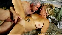 Saucy old spunker is a super hot fuck and loves sticky facials Preview