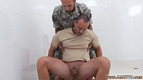 Military penis exam video and army fucking to small boy gay R&R, the