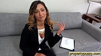 Realtor teen with a hairy pussy fucked by a potential client thumbnail