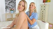 Sensual lesbians Kiara Night and Lola Myluv in scene by SapphiX Preview
