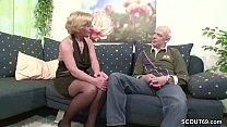 Deutsche Oma Gera und Opa Heinz ficken das erste Mal vor der Kamera Vorschaubild