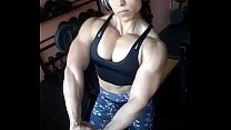 Big muscles girl 50