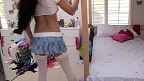 Nubiles Porn - Hot college babes explore their lesbian sides thumbnail