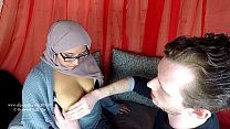 17329 Arab milf breastfeeding her new husband preview