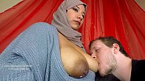 kristal kaitlin - Arab milf breastfeeding her new husband thumbnail