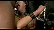 Brunete with delicious big breasts bdsm thumbnail