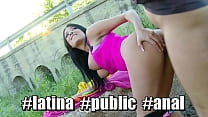 Culioneros Penetrating Anissa Kate In Public Admiring Her Big Tits And Big Ass
