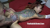 asian sensation kimbelry chi gets banged rican hood tattoo chiraqi style  style thumbnail