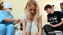 Fella assists with hymen physical and shagging of virgin teenie video
