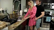 Aaliyah Taylor in Mom Cures My Heatbreak - Under Counter Blow (DVD)