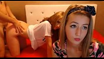 Cute Russian Teens Fuck and Suck For Cam- SEXYC...