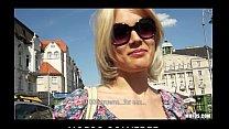 Blond Czech exhibitionist bounces her perfect ass on a big-dick thumbnail