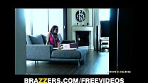 Horny brunette wife Michelle Lay daydreams abou...
