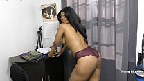 hornylily sissy training roleplay small penis: my strip poker thumbnail
