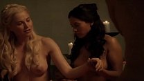 Lucy lawless Spartacus b. and sand s1 e6 latino