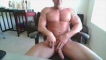 daddy bodybuilder on web camera