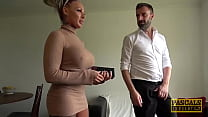 PASCALSSUBSLUTS - Busty UK Brooke Jameson Rough Fucked By Pascal