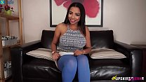 Ruby Summers goes on Ebonymus.com looking for horny guys