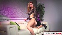 FirstClassPOV - HOT Latina Yurizan Beltran sucking a big dick, big boobs Image