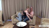 German milf suck cock on her knees preview image