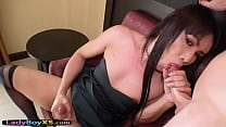 Luxury Thai ladyboy slut gets her tight ass fucked