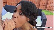 Fucking wifes big tit ebony bff thumbnail