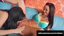 Penthouse Pet Jelena Jensen & Sandee Westgate Dildo Bang 69!