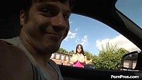 Huge titty girl gets hard fucked by a boy having huge cock صورة
