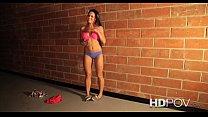 HD POV Very Cute Rahyndee James sucks and fucks you with pleasure
